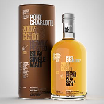 Rémy Cointreau GTR is introducing Port Charlotte 2007 CC:01, distilled at Islay's Bruichladdich distillery