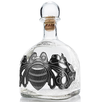 Patrón has released a Collector's Edition bottle, featuring a pewter design