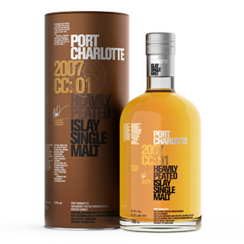 A Port Charlotte expression is one of the travel retail whiskies in WDF's Whisky Experience promotion