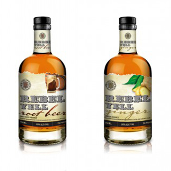 Rebel Yell has added two new flavours – Ginger and Root Beer – to its whiskey range