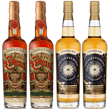 Compass Box has released The Circus (left) and Enlightenment, as it continues its transparency campaign