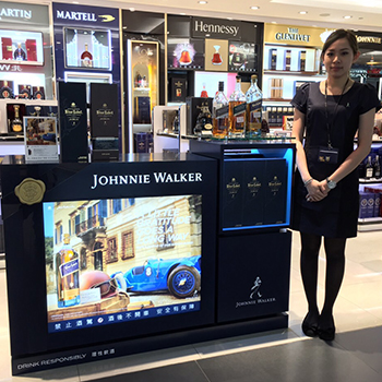 Diageo GTME says its travel retail Gentleman's Wager II activations resulted in a 25% depletion uplift