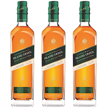 Johnnie Walker Island Green is the first TR exclusive blended malt from the brand