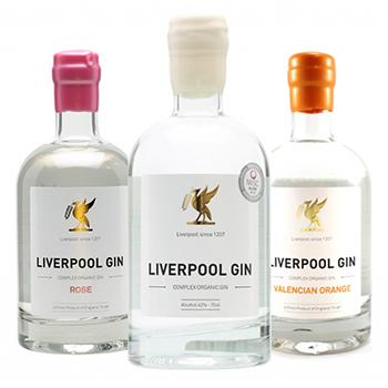 Liverpool Gin Trio