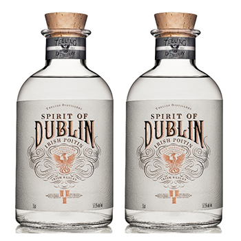 The Teeling Whiskey Company has released the first liquid from its distillery – Spirit of Dublin Irish Poitín