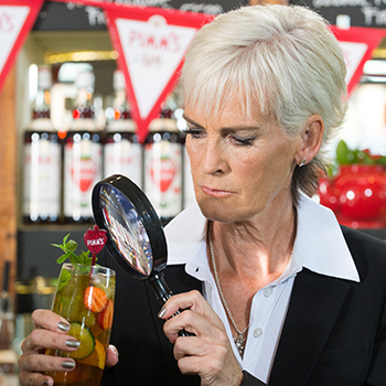 Judy Murray Mint Pimms