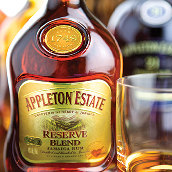Appleton Estate was the only international rum brand to grow volume sales last year