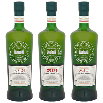 SMWS is toasting astronaut Tim Peake's return to earth with a special bottling