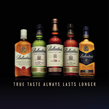 Ballantine's has recent defied category softness