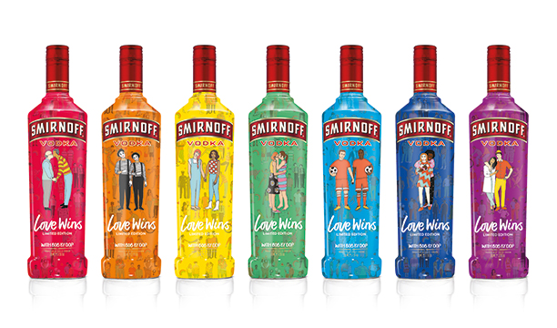 Fashion 2017 colours - Smirnoff Marks Pride With Colourful Designs