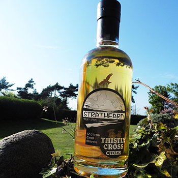 Strathearn Scottish Cider Brandy is thought to be the first of its kind