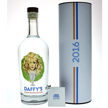 Daffy's is launching a limited edition expression in partnership with F1 Manor Racing and Waitrose