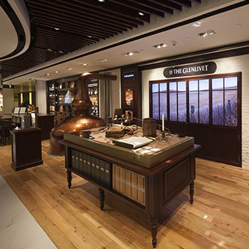 Pernod Ricard Travel Retail Asia has opened The Glenlivet Space at Changi Airport