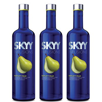 Gruppo Campari has extended its Skyy Infusions line with a Bartlett Pear variant