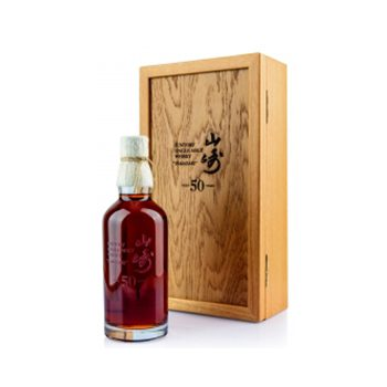 A bottle of Yamazaki 50yo has set a new world record for whisky sold at auction