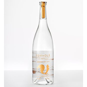 Foxhole Gin is made from English wine grapes