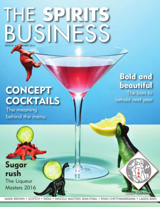 Spirits Business magazine cover