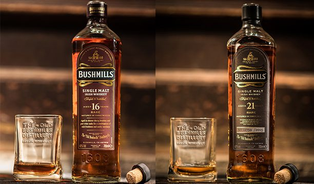 Bushmills has launched two limited-edition expressions – a 16-year-old and 21-year-old