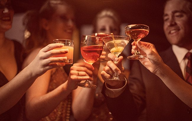 I'll drink to that: Alcohol actually helps your memory, study claims