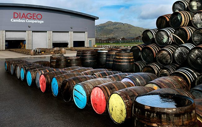 Diageo share value lifts as net sales hit £12 billion