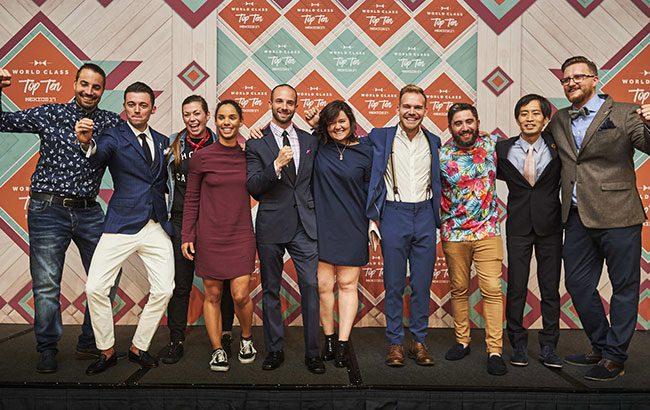 Diageo World Class 2017 Names Top 10 Bartenders
