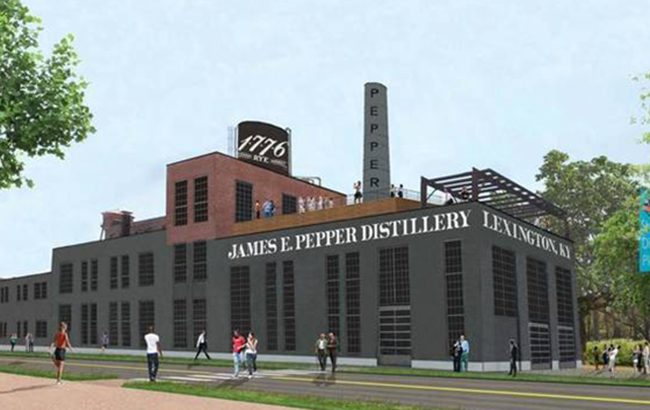 James E Pepper Distillery