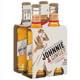Johnnie Walker Releases Whisky And Ginger Ale Rtd