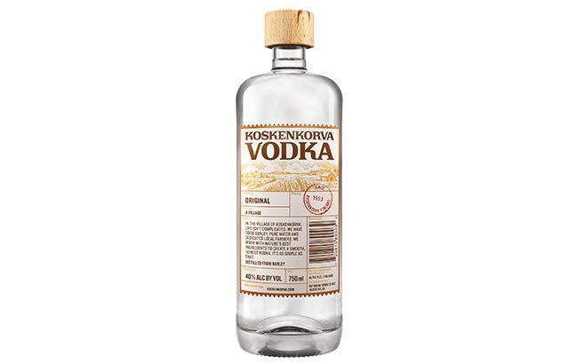Koskenkorva Vodka launches in US
