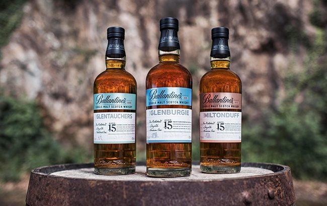 Ballantine's single malts