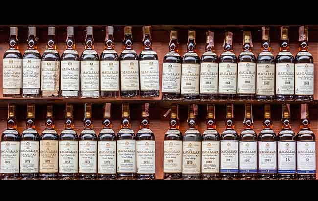 Macallan-Whisky-collection