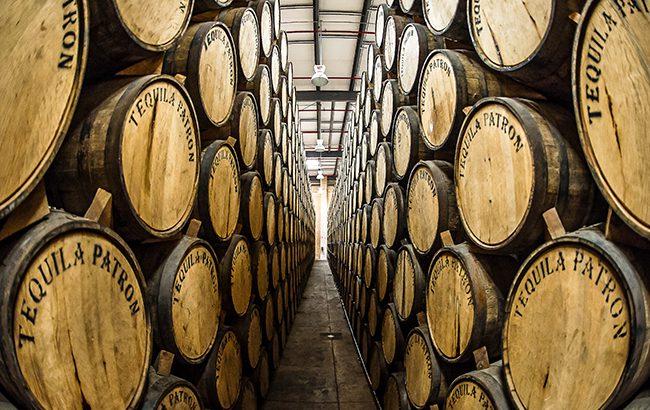 Over a barrel: Patrón Tequila