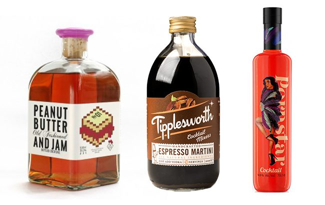SB rounds up the top bottled cocktails to celebrate Valentine's Day
