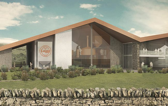 Isle of Arran Distillers' second site in Lag is to open next year