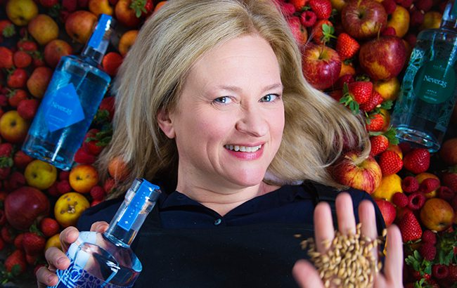 Kecia McDougall, founder of Tay Spirits, the maker of Scotland's 'first' field-to-bottle eau de vie