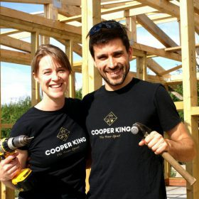 Cooper King Distillery founders Abbie Neilson and Chris Jaume