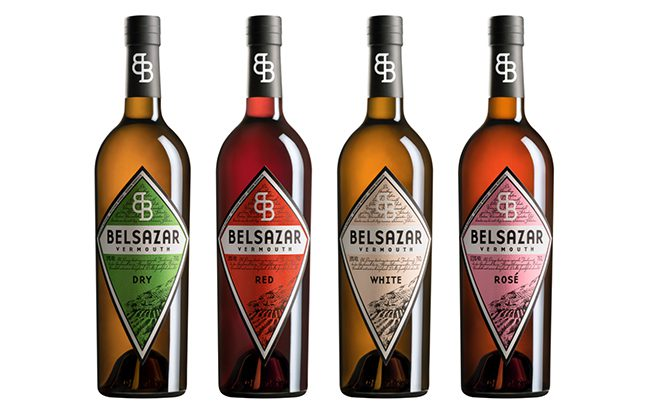 German vermouth brand Belsazar consists of four variants: Dry, Red, Rosé and White