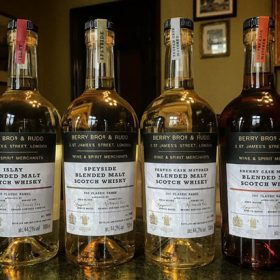 British wine and spirits merchant Berry Bros & Rudd has launched four new no-age-statement (NAS) blended malt Scotch whiskies as part of its own-label collection