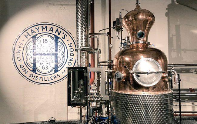 Haymans Distillery Copper Pot Still