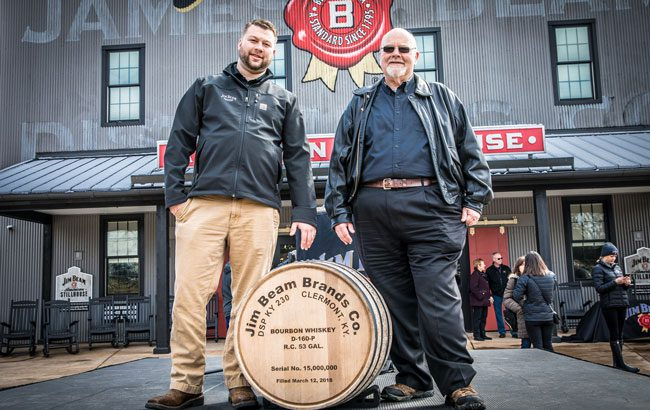 Jim Beam 15 millionth barrel