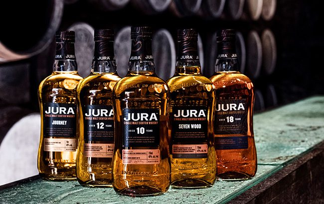 Jura-Scotch-whisky-range