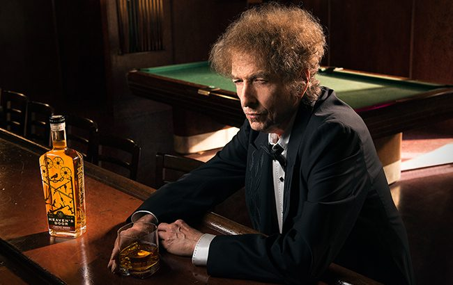 American singer Bob Dylan has made his first foray into American whiskey
