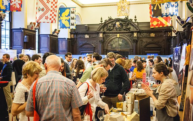 The City Wine show features a number of leading wine producers from around the world, as well as a gin and tonic bar