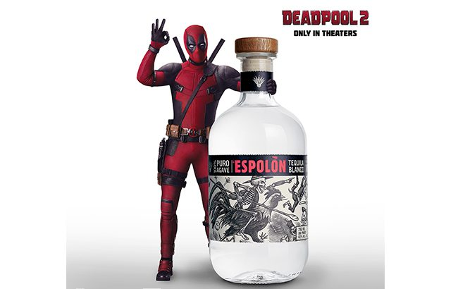 Deadpool and Espolòn Tequila have teamed up on a new campaign
