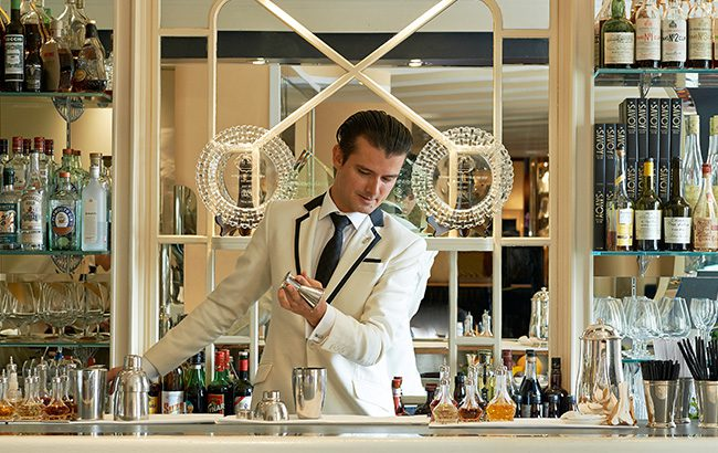 Erik Lorincz will step down from his role as head bartender at The American Bar on 2 May