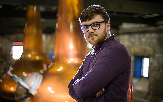 Henry Donnelly takes over from Karen Cotter as the microdistillery's new distiller