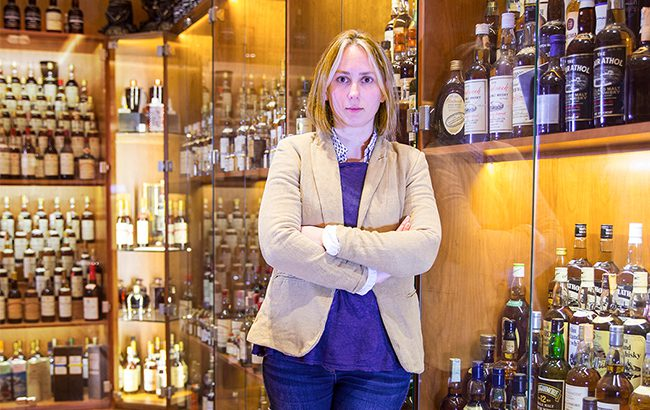 Isabel Graham-Yool, auction director at Whisky.Auction