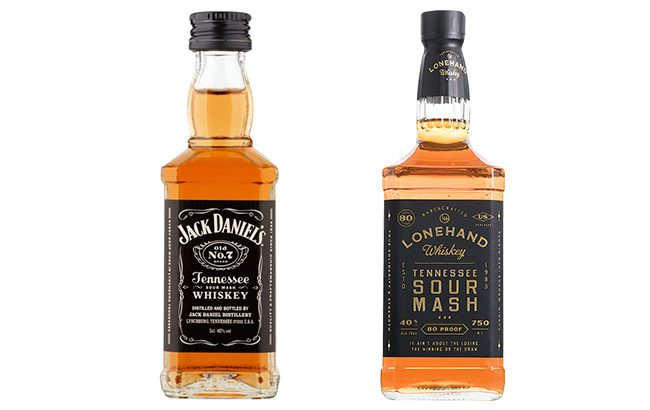 Jack Daniel's is suing the makers of Lonehand Whiskey for infringing on its trade dress