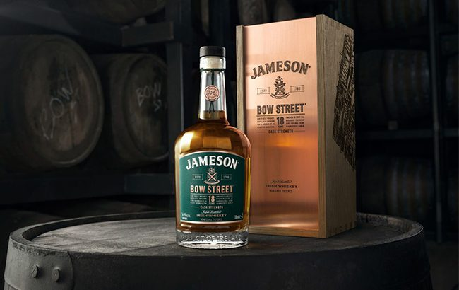 Jameson Bow Street 18 Years Cask Strength is the brand's first cask strength Irish whiskey