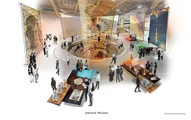 Diageo invests £150m in Johnnie Walker visitor experience