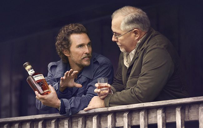 Matthew McConaughey and master distiller Eddie Russell launch Wild Turkey Longbranch